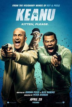 Keanu is a 2016 American action comedy film directed by Peter Atencio and written by Jordan Peele and Alex Rubens. The film stars Peele, Keegan-Michael Key, Method Man,. Streaming Hd, Streaming Movies, Hd Movies, Movies To Watch, Movies Online, Movies And Tv Shows, Movie Tv, 2016 Movies, Comedy Movies
