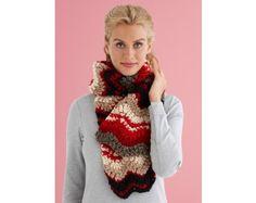 Riviera Ripple Scarf (Crochet)