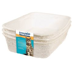 Littermaid P70000 Disposable Litter Box 3 Pack -- Check out the image by visiting the link.(This is an Amazon affiliate link and I receive a commission for the sales)
