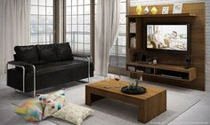 Uma sala de estar decorada pode oferecer modelos bem variados e com isso também as cores, pois certamente que para ficar bem mesmo precisará trazer harmoni