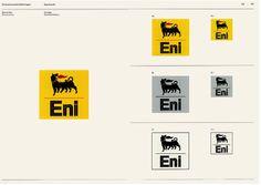 Bob Noorda, Unimark Manuale di immagine aziendale / Corporate identity manual, Eni, 1998, courtesy Eni.