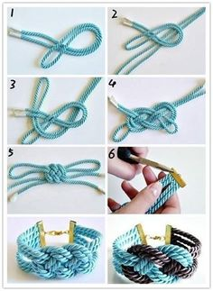 Bead crochet pattern ombre seed bead bracelet tutorial pdf beading master Class jewelry make necklace Crochet Rope tutorial geometric Jewelry Knots, Macrame Jewelry, Fabric Jewelry, Macrame Bracelets, Diy Jewelry Necklace, Rope Necklace, Necklace Designs, Silver Bracelets, Jewellery