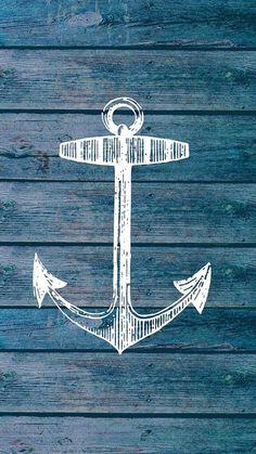 Anchor Wallpaper, Boat Wallpaper, Nautical Wallpaper, Handy Wallpaper, Phone Wallpaper Design, Cute Wallpaper Backgrounds, Cellphone Wallpaper, Pretty Wallpapers, Designer Wallpaper