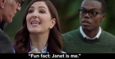 "15 Of The Best Lines By Janet In ""The Good Place"" So Far"