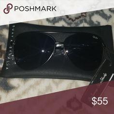 ad3b729462 Quay Australia sunglasses Black aviator glasses. Brand new