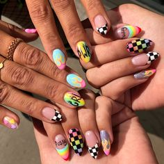 Try some of these designs and give your nails a quick makeover, gallery of unique nail art designs for any season. The best images and creative ideas for your nails. Aycrlic Nails, Cute Nails, Pretty Nails, Hair And Nails, Weed Nails, Star Nails, Best Acrylic Nails, Dream Nails, Nagel Gel