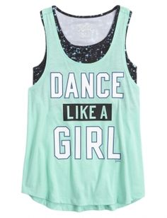 Shop Dance 2 in 1 Tank and other trendy girls dancewear activewear at Justice. Find the cutest girls activewear to make a statement today.