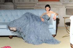 Vogue Daily — Stella Tennant in Burberry, Met Gala 2014 Stella Tennant, Celebrity Dresses, Celebrity Style, New York City, Galas Photo, Burberry Dress, Burberry 2014, Burberry Prorsum, Silhouette
