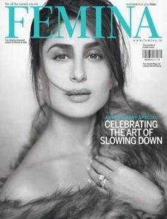 Kareena Kapoor on the cover of Femina