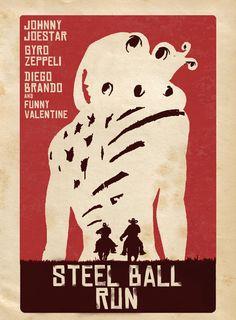 Steel Ball Run Django style. Bizarre Art, Jojo Bizarre, Blue Exorcist, Cowboy Bebop, Rwby, Manga Anime, Anime Art, Inu Yasha, Jojo Parts