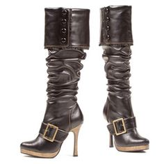 Get costume boots and shoes in women's and men's styles for Halloween. Also find kids costume boots and shoes as well as sexy heels and discount boots. Stiletto Boots, High Heel Boots, Heeled Boots, High Heels, Botas Sexy, Sexy Boots, Black Boots, Women's Boots, Gypsy Boots