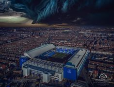 Goodison Park, Everton Fc, Liverpool, Airplane View, Chelsea, Coasters, Soccer, Travel, England