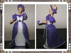 D'Ingrid Barbie, Elsa, Creations, Gowns, Disney Princess, Disney Characters, Crochet, Dragon, Tejidos