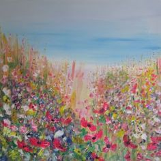 In the Wild Flower Meadow by Jenny Hare