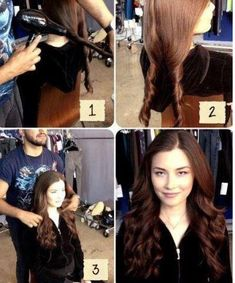 Ladies with straight hair sometimes want to spruce up their look without the trouble of going to the beauty parlor or using chemical solutions. Beautiful wavy hair full of body and style can be yours with just a few simple steps. Instructions: Run some water through your hair so it is damp, but not