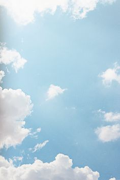 Find images and videos about blue, sky and clouds on We Heart It - the app to get lost in what you love. Blue Sky Clouds, White Clouds, Blue Skies, Sky Aesthetic, Retro Color, Wallpaper Backgrounds, Wallpapers, Blue Sky Wallpaper, Cloud Wallpaper