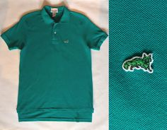 Persian green polo shirt by The Fox Collection by afterglowvintage, $26.00