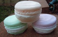 French Macaroon Macaron Soap by ajsweetsoap on Etsy, $5.25