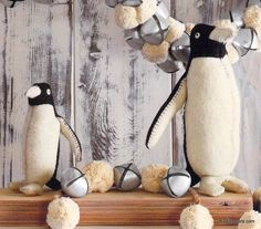 Roost Felt Penguins – Modish Store