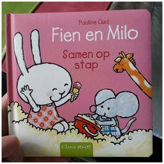 Fien en Milo Samen op stap Pauline Oud prentenboek Clavis uitstapjes uitjes dagje weg recensie review