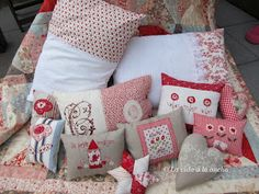 Quilting en Holanda: Simply Rouge - Red Home