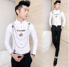 Find More Casual Shirts Information about 2015 Fashion Print Shirt Party Evening Club Men Slim Wine Shirts Free Shipping CS824,High Quality Casual Shirts from Great Store -- Manufactory Supply on Aliexpress.com