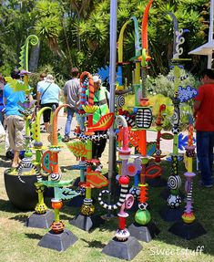 """Garden totems   Sweetstuff """"Candy""""   Flickr"""
