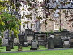Greyfriars Cemetery in Edinburgh, Scotland