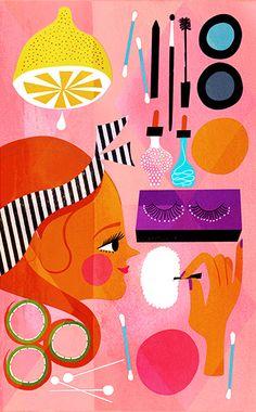 Illustrations by Sanna Mander