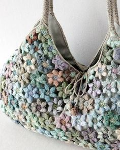 """Милые сердцу штучки: Вязание крючком: """"Шарфы, сумки и бусы от Sophie Digard"""""""