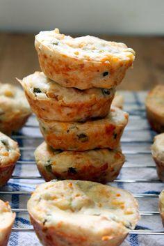 Torta de Atum {Tuna Savory Muffins Style}