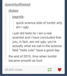"Click through for pages and pages and pages of ""tumblr gets deep"" posts."
