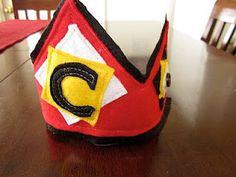 Cute Felt Birthday Crown #DIY #Craft