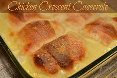 Chicken Crescent Casserole   The Cookin Chicks