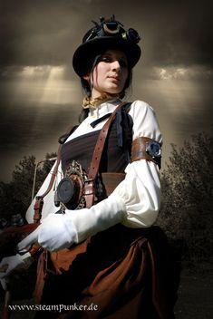 Steampunk Outfit Countess 02 - Imagen & Foto de steampunker de Steampunk/Retrofuturismus - Fotografia (27881914) | fotocommunity