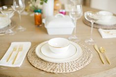 Olivia & Oliver Dinnerware from Bed Bath & Beyond - Wedding Registry Favorites by Blonde Expeditions