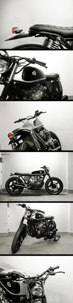 Cafe Racer Dreams : Honda CB 750 kz 1980 bratstyle. CLICK the PICTURE or check out my BLOG for more: http://automobilevehiclequotes.tumblr.com/#1506290339