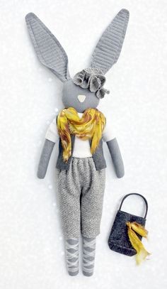 by Navy Plum| This is a stylish bunny| so cute