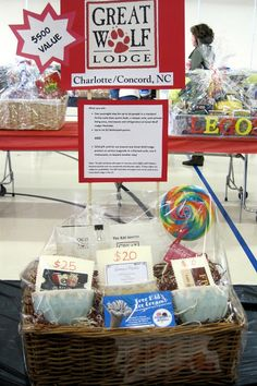 Artfully Arranged Disarray: Amazing Raffle Baskets