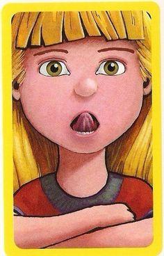 Παιχνίδι μίμησης με εκφράσεις προσώπου Στόχος του παιχνιδιού είναι να καταφέρετε να μιμηθείτε τις εκφράσεις των προσώπων που βλέπετε στις κάρτες. Μπορείτε απλά να παίρνετε μια κάρτα και να κάνετε τις κινήσεις μίμησης μπροστά από έναν καθρέφτη ή μπορείτε να εντάξετε τις κάρτες σ' ένα δικό σας παιχνίδι που θα δημιουργήσετε μαζί με το παιδί. …