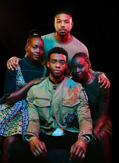 The director Ryan Coogler and the castmates Chadwick Boseman, Michael B. Jordan, Lupita Nyong'o and Danai Gurira see personal and political potency in Marvel's first black superhero film.