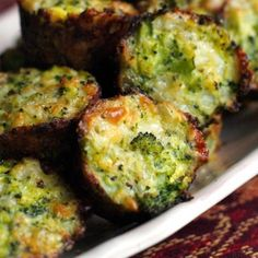 Broccoli Tots are a fun and healthy play on tater tots made with finely chopped broccoli in place of potatoes.