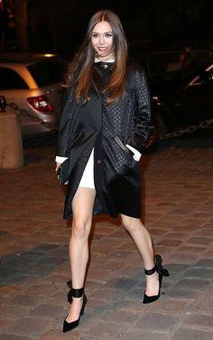 Elizabeth Olsen - Louis Vuitton store opening in Paris 3/5/13