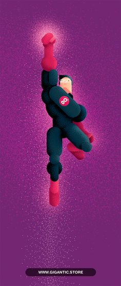 Flat Design Character with Gigantic Noise Brushes. Cover Design, Design Art, Logo Site, Design Comics, Multimedia Arts, Illustration Techniques, Flat Design Illustration, Character Design References, New Art