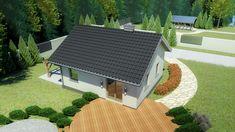 Wizualizacja Dom przy Topolowej 2 CE