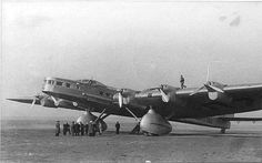 Tupolev ANT-20bis (1938) passenger/transport - advanced 6-engine version of ANT-20 'Maxim Gorky' https://en.m.wikipedia.org/wiki/Tupolev_ANT-20
