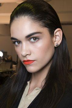 orange matte lipstick