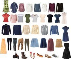 Capsule Wardrobe Year-round