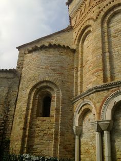 This should be the south side apsis of Santa Fosca, Torcello, Italy but I'm not completely sure because I made the pictures two years ago