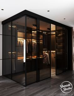 Gennady Shmidt on Behance Bedroom Closet Design, Modern Bedroom Design, Home Room Design, Dream Home Design, Modern House Design, Home Interior Design, Wardrobe Design, Modern Luxury Bedroom, Closet Designs